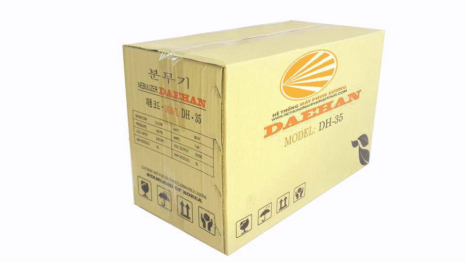 Giới thiệu máy phun sương DH 35