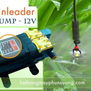 Máy bơm mini 12v shinleader chuyên dùng tưới cây chăm sóc lan