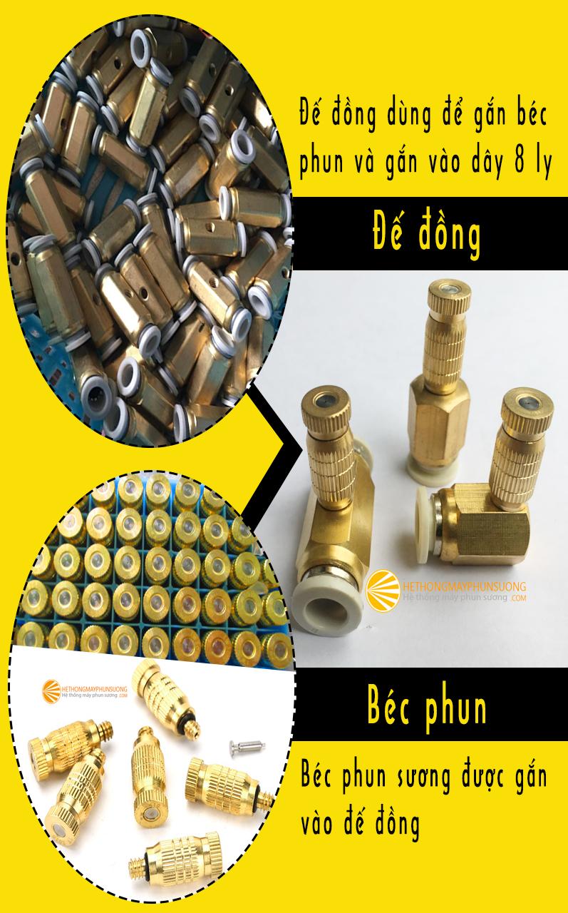 Bo bec phun suong