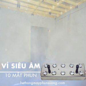 Vỉ tạo ẩm siêu âm 10 mắt tạo ẩm phun sương khói mù mịt