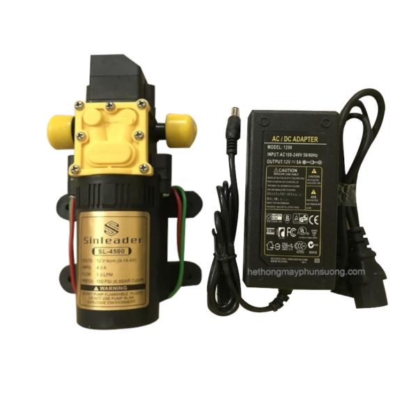 Combo máy bơm áp lực 12V