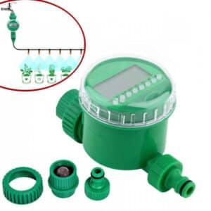 Van khóa nước hẹn giờ tưới cây tự động dùng pin