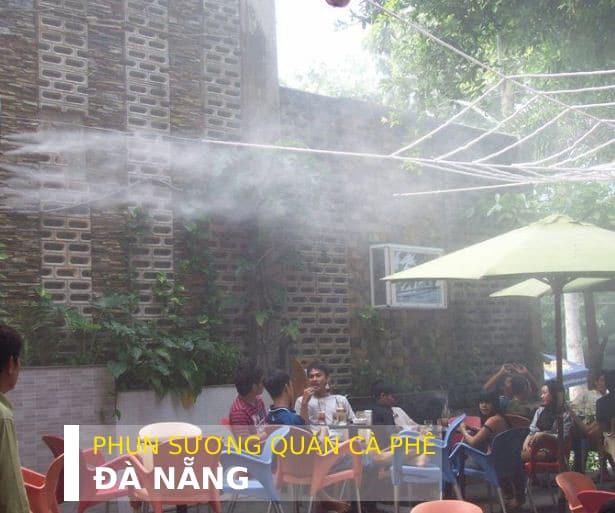 Máy phun sương quán cafe đà nẵng